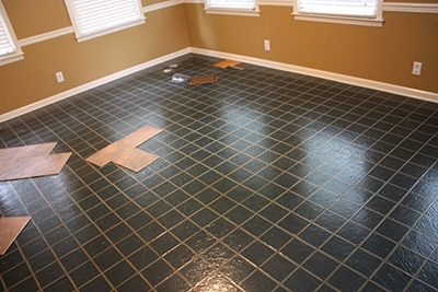 Kitchen Floor Not Level Cool Stabilize A Floor For Tile Extreme How To 9782 3