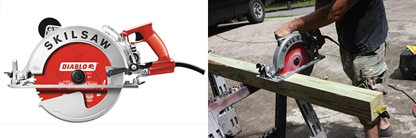 "Skilsaw 10 1/4-inch worm drive saw ""Sawsquatch"""