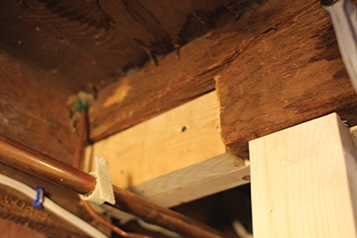 By Filling The Notch The Joist Hanger Will Have Solid Bearing For  Installation.