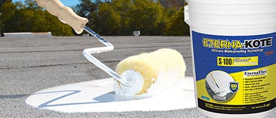Eterna Kote S 100 Silicone Roof Coating Extreme How To