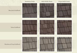 Davinci roofscapes introduces four new davinci ecoblend for Davinci slate roof reviews