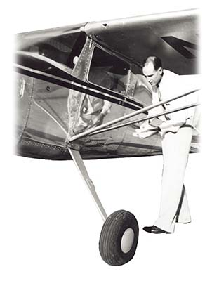 Don with plane