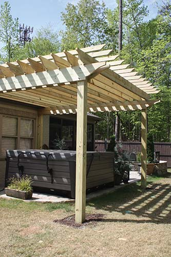 How To Build A Pergola Extreme How To