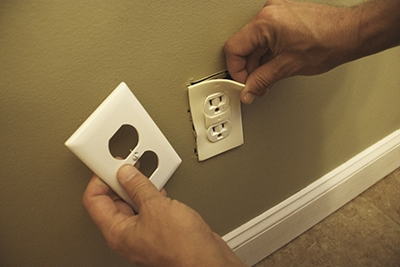 Use fitted foam gaskets to stop airflow behind electrical switch-plates—a commonly overlooked area of the building envelope.