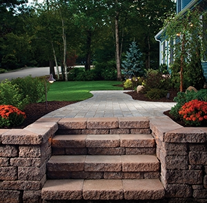 Photography of Belgard Hardscapes completed in the Northeast, 2009.