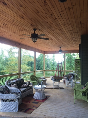 Tongue And Groove Ceiling Porch Patio