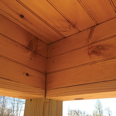 Molding Or Trim Strips Can Be Used To Conceal The Cut Plank Edges Against Wall Livelys Same Floor Planks As Ceiling Create