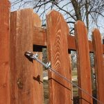 Stabilize a Leaning Fence