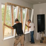 Triple Window Trim-Out