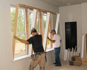 Amazing Triple Window Trim Out Extreme How To Customarchery Wood Chair Design Ideas Customarcherynet