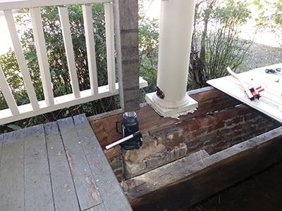 Repair For An Old Wooden Porch Extreme How To