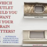 A Rain Gutter OUTLET that will not clog — The SpoutOff Rain Gutter System