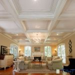 Coffered Ceilings Made of Durable Polyurethane