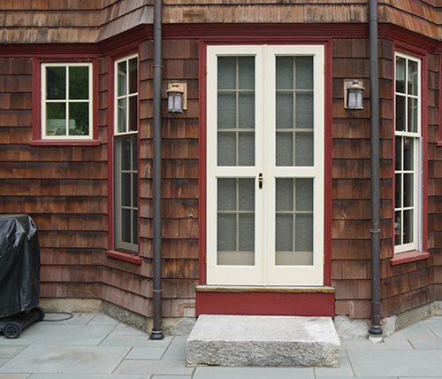 Make A Customized French Storm Door
