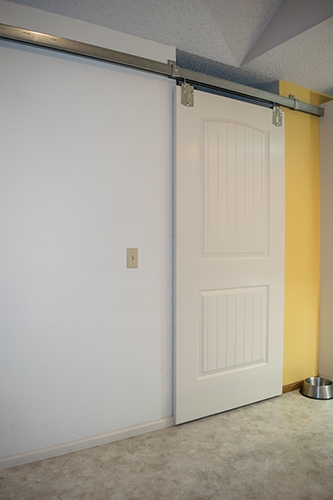 Installing A Door Using Barn Style Door Hardware Extreme