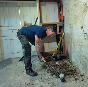 Old House, Dry Basement - Extreme How To