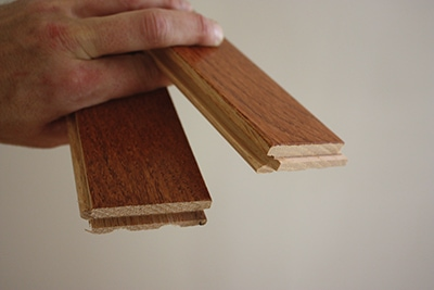 Expanding a hardwood floor extreme how to for Builders pride flooring installation