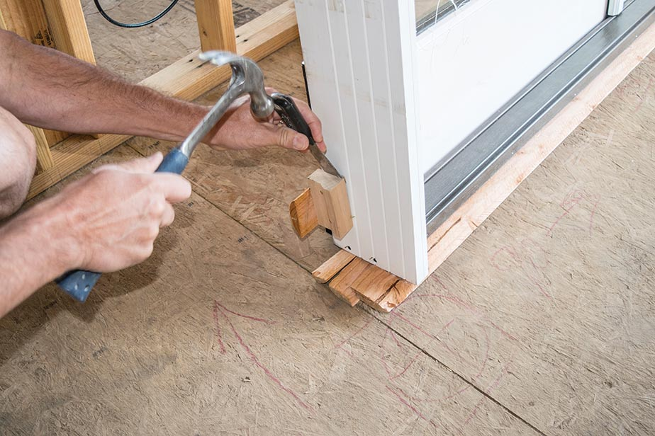 Installing Out Swing Double Exterior French Doors Extreme How To