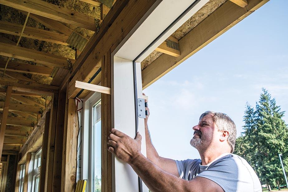 Installing swinging doors