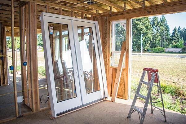 Installing Out Swing Double Exterior French Doors