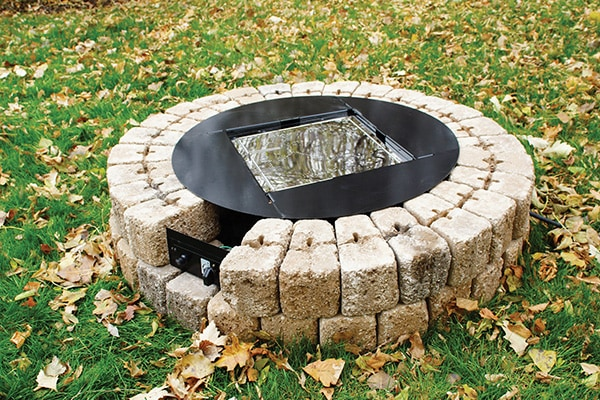 Build A Gas Fire Pit In 10 Steps Extreme How To