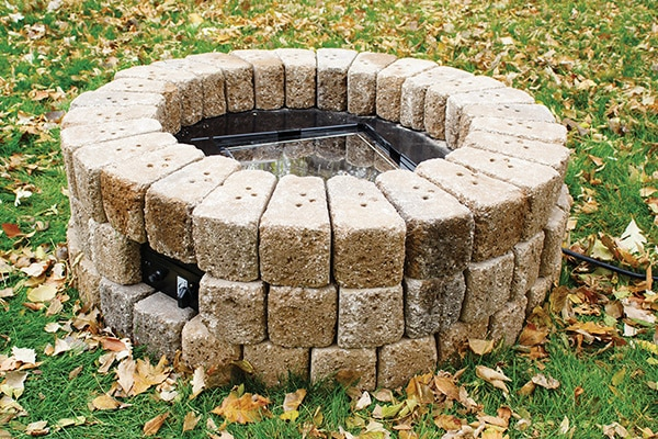 Build A Gas Fire Pit In 10 Steps - Extreme How To