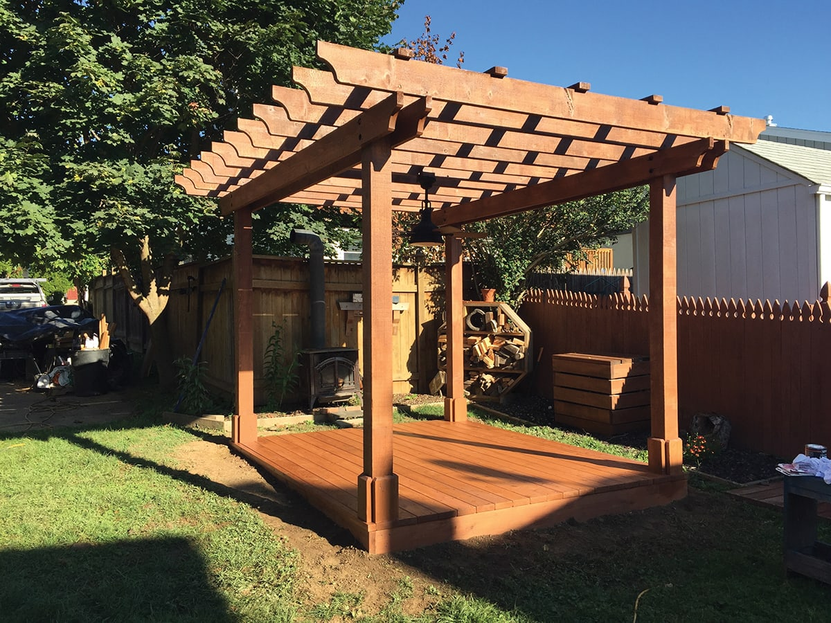 How To Build A Wood Deck Over Dirt | MyCoffeepot.Org