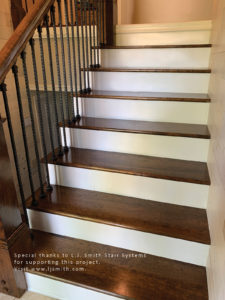 Remodeling A Staircase Tread Riser And Stringer Replacement For