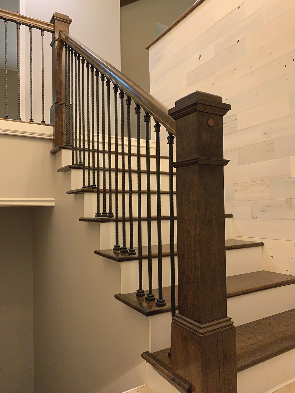 Diy Stair Rail Installation Extreme How To