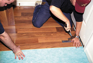Flooring In A Snap Installing Laminates Extreme How To