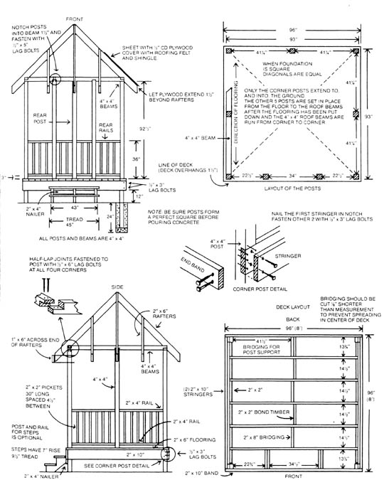 Modern Shed 372 120 moreover Carport Design Plans Uk in addition 8 X 10 Pergola Plans Must See furthermore Pole Building Home Plans together with Shed Roof Pitch. on carport lean to plans