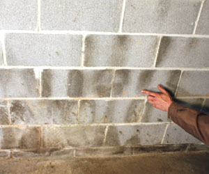 Waterproofing basement walls extreme how to - Sealing exterior cinder block walls ...