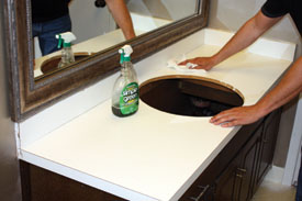 Delightful Paint A Countertop To Look Like Granite