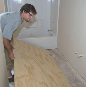 0%201a1a1LayerTT12 Install Plywood Underlayment for Vinyl Flooring