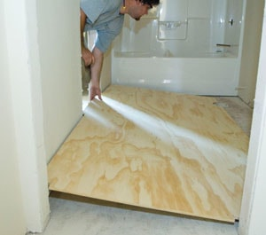 0%201a1a1LayerTT13 Install Plywood Underlayment for Vinyl Flooring