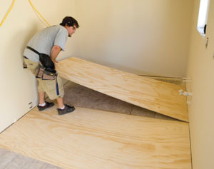 Install Plywood Underlayment For Vinyl Flooring Extreme How To - Install vinyl flooring over plywood subfloor