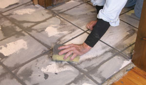 Extremely fast setting, the grout can be cleaned in 15 to 30 minutes.