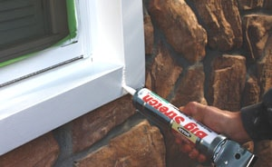 Check the caulking around all windows and doors, repairing and replacing as necessary with a quality exterior-grade sealant.