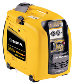 Keeping the generator clean will allow the operator to easily spot any damaged areas, loose parts or fuel leaks.