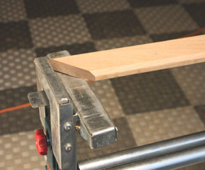 Stops for a miter saw help ensure consistent, matching cuts.