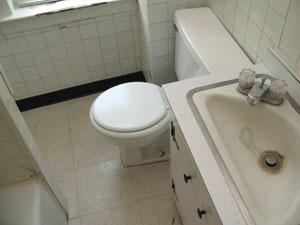 Bathroom Sink Jammed bathroom on a budget - extreme how to
