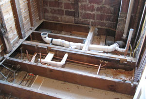 Rough Plumbing A Bathroom bathroom on a budget - extreme how to