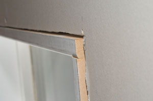 When the corner of a surround sticks out past the wall surface you can expect the casing will need to be rolled or back-cut to make the adjustment. & Trim Tips for Doors and Windows - Extreme How To