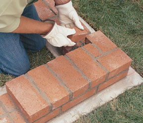 Build a Brick Garden Wall Extreme How To