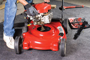 Replace an Old Mower Deck - Extreme How To