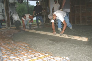 Pour A Concrete Floor Extreme How To
