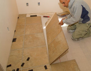 installing laminate tile flooring