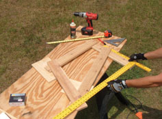 1aCedarTT5 DIY Outdoor Lawn Furniture