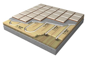 Delightful Hydronic Radiant Heat Systems Rely On Warm Water Piped Throughout The Floor.  (Images Courtesy Of Uponor)