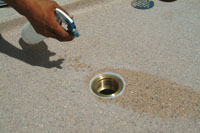 Install a Solid Surface Shower Pan